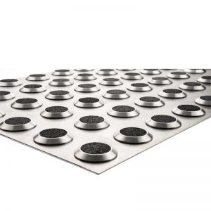 WISC-60x30 Tactile Stainless Steel Mat Carb infil