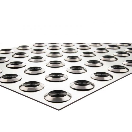 WISP-60x30 Tactile Stainless Steel Mat Poly infil