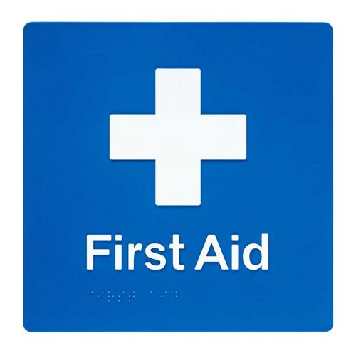 Braille Sign First Aid