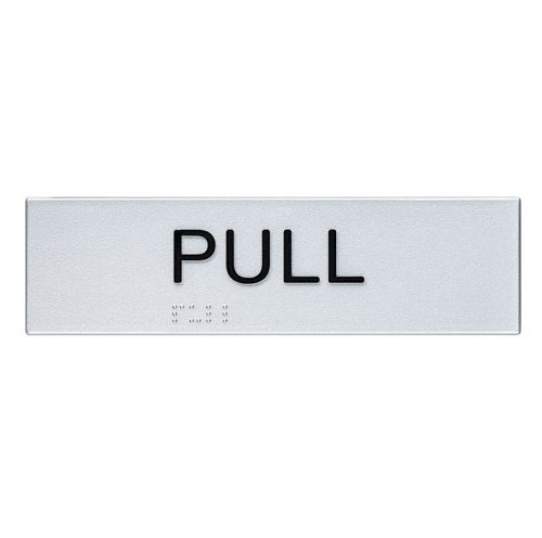 Braille Sign Pull