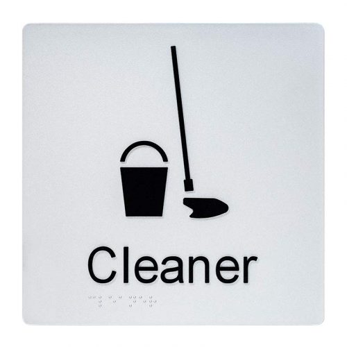 Braille Sign Cleaner