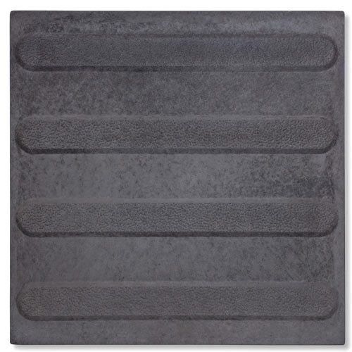 Tactiles Directional Integrated Paver Black