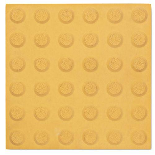 Tactiles Warning Integrated Paver Yellow