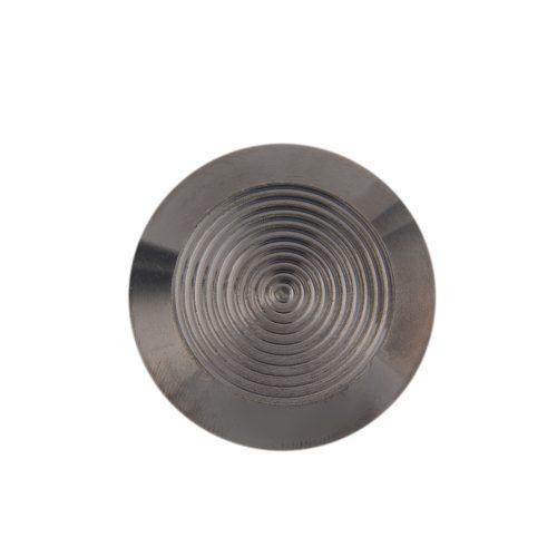 Tactiles Stainless Steel Warning Discrete Black