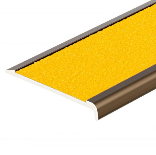 CS2-75X10 Stair Nosing Classic Series 2 Gold Yellow Tape