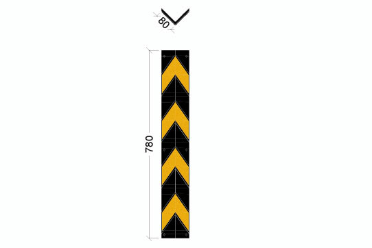 CG-800-BY Corner Guard for temp