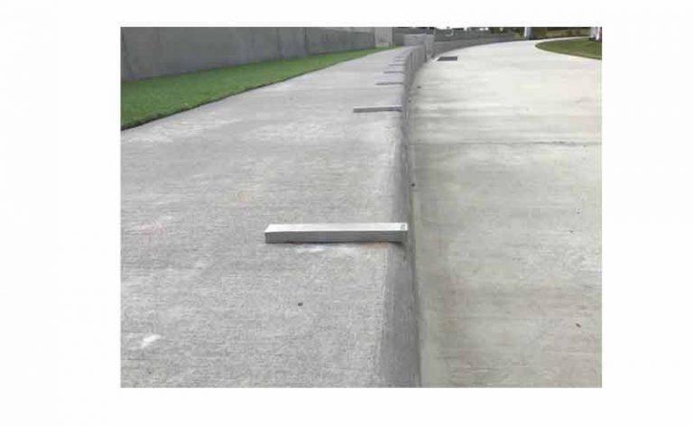 Bar Skate Deterrents SDB-110x13x10-SS