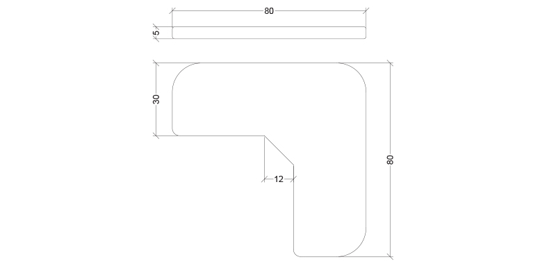SDW-80x80-SS-Wedge-Skate-deterrent-CAD