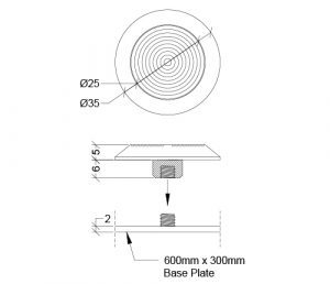 Tactile Carpet System WDSS-WDBR-6C